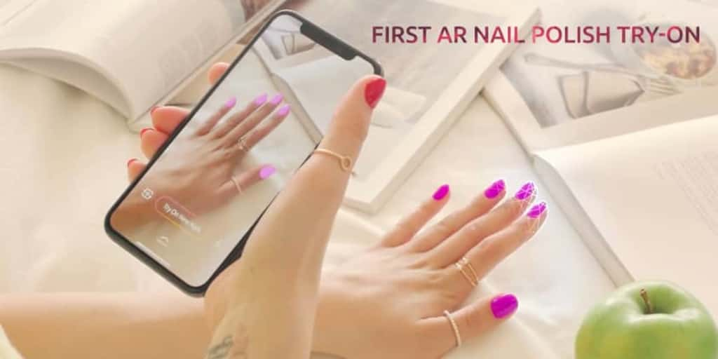 Try on Nail Polish With Your Phone Camera | FutureVision | R/GA ...