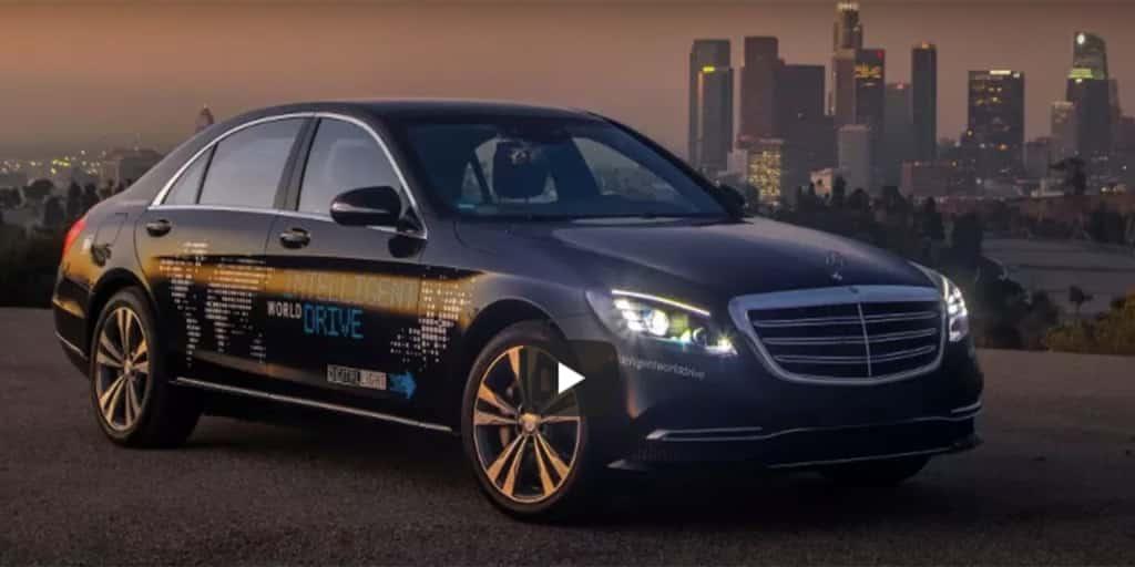 Daimler Announces Autonomous Taxi Fleet Pilot In California In 2019