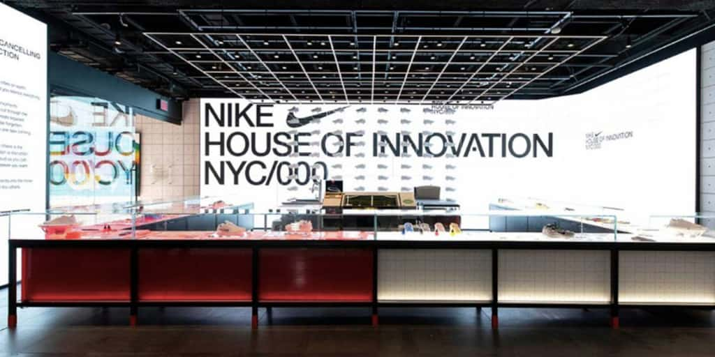 """92c7efee4 Choose Your Own Adventure at Nike s NYC """"House of Innovation 000"""".  Six-story flagship s experience design caters to a variety of shoppers."""