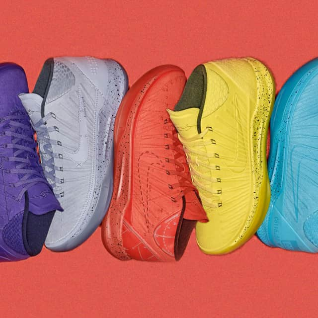 sale retailer f17bf 6052a Nike Campaign Channels Kobe Bryant s Color Philosophy